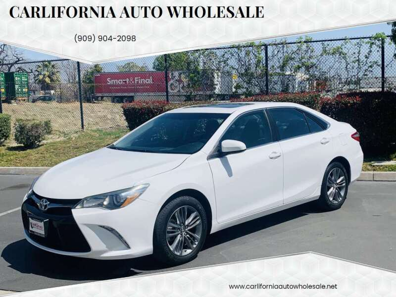 2017 Toyota Camry for sale at CARLIFORNIA AUTO WHOLESALE in San Bernardino CA