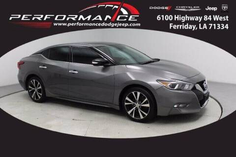 2018 Nissan Maxima for sale at Performance Dodge Chrysler Jeep in Ferriday LA