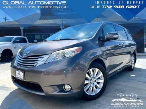 2013 Toyota Sienna for sale at Global Automotive Imports of Denver in Denver CO
