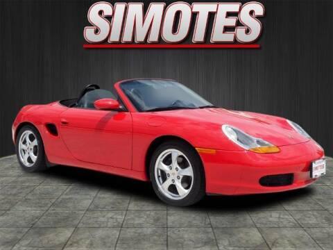 2002 Porsche Boxster for sale at SIMOTES MOTORS in Minooka IL