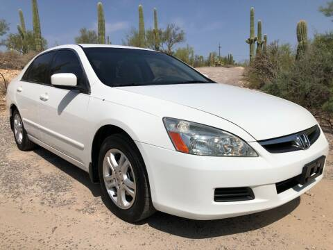 2007 Honda Accord for sale at Auto Executives in Tucson AZ