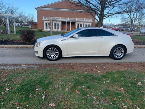 2011 Cadillac CTS for sale at Clarks Auto Sales in Connersville IN