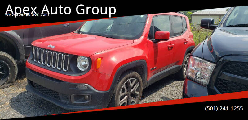 2017 Jeep Renegade for sale at Apex Auto Group in Cabot AR