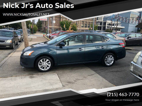 2015 Nissan Sentra for sale at Nick Jr's Auto Sales in Philadelphia PA