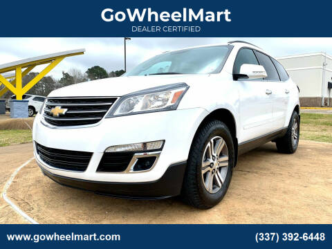 2017 Chevrolet Traverse for sale at GOWHEELMART in Leesville LA