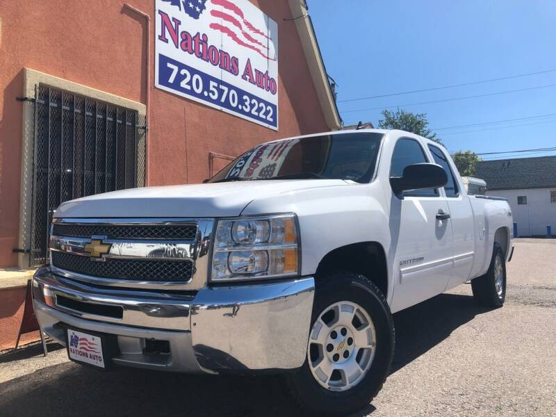 2013 Chevrolet Silverado 1500 4x4 LT 4dr Extended Cab 6.5 ft. SB - Denver CO