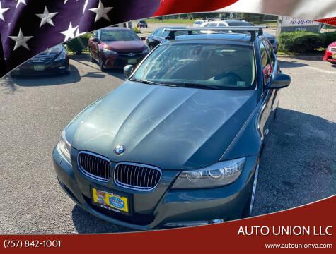 2011 BMW 3 Series for sale at Auto Union LLC in Virginia Beach VA