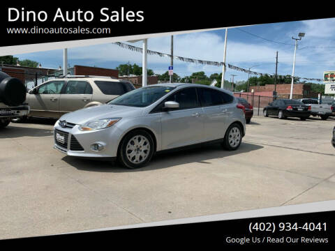 2012 Ford Focus for sale at Dino Auto Sales in Omaha NE