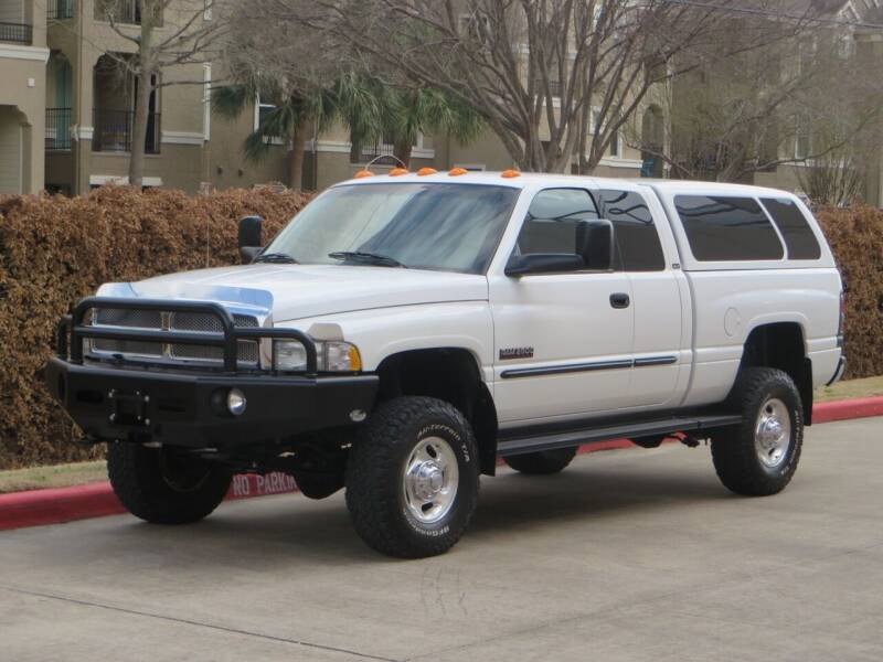 2002 Dodge Ram Pickup 2500 for sale at RBP Automotive Inc. in Houston TX
