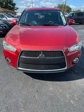 2012 Mitsubishi Outlander for sale at Right Choice Automotive in Rochester NY