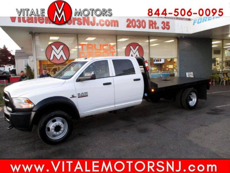 2015 RAM Ram Chassis 5500 for sale at Vitale Motors in South Amboy NJ