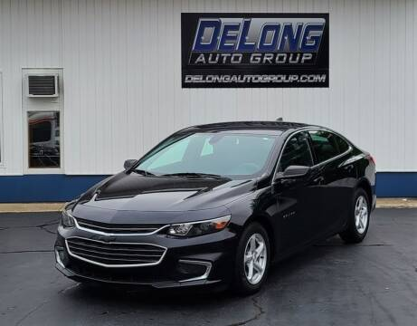 2017 Chevrolet Malibu for sale at DeLong Auto Group in Tipton IN