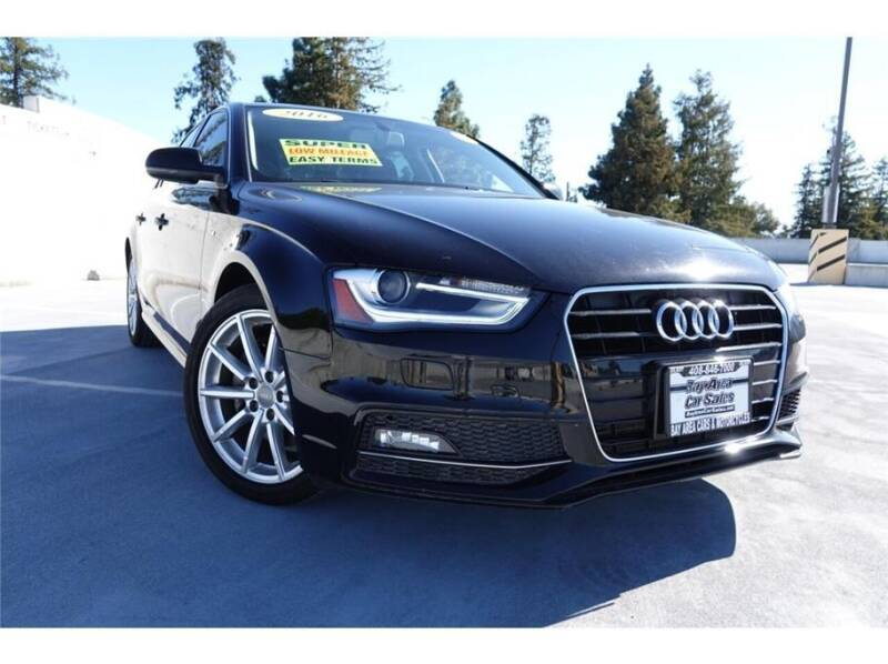 2016 Audi A4 for sale at BAY AREA CAR SALES 2 in San Jose CA