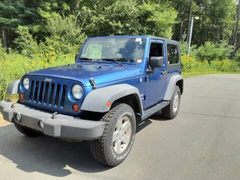 2010 Jeep Wrangler for sale at Cappy's Automotive in Whitinsville MA