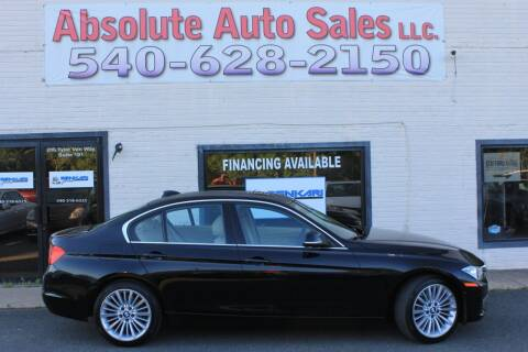 2014 BMW 3 Series for sale at Absolute Auto Sales in Fredericksburg VA