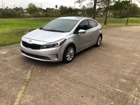 2017 Kia Forte for sale at Orange Auto Sales in Houston TX