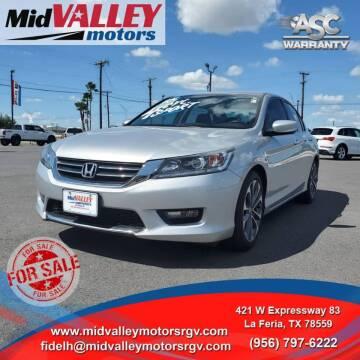 2015 Honda Accord for sale at Mid Valley Motors in La Feria TX