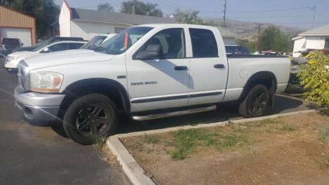 2006 Dodge Ram Pickup 1500 for sale at BRAMBILA MOTORS in Pocatello ID
