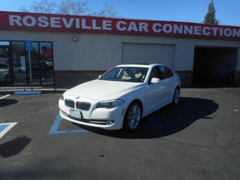 2011 BMW 5 Series for sale at ROSEVILLE CAR CONNECTION in Roseville CA