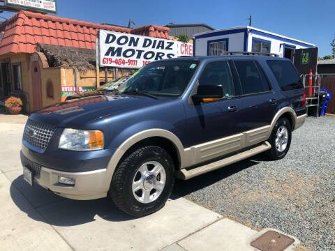 2005 Ford Expedition for sale at DON DIAZ MOTORS in San Diego CA