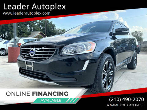 2016 Volvo XC60 for sale at Leader Autoplex in San Antonio TX