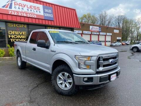 2016 Ford F-150 for sale at PAYLESS CAR SALES of South Amboy in South Amboy NJ