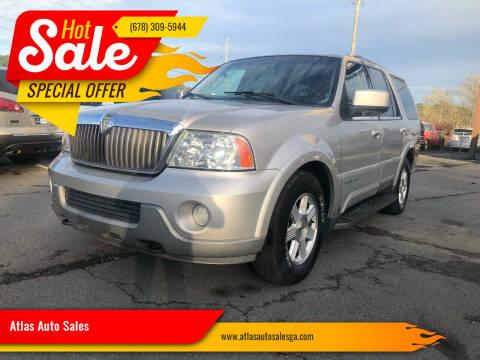 2003 Lincoln Navigator for sale at Atlas Auto Sales in Smyrna GA