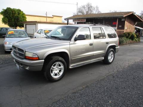 2001 Dodge Durango for sale at Manzanita Car Sales in Gridley CA