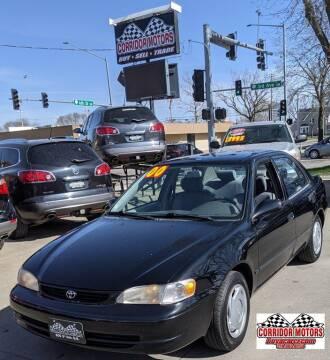 2000 Toyota Corolla for sale at Corridor Motors in Cedar Rapids IA