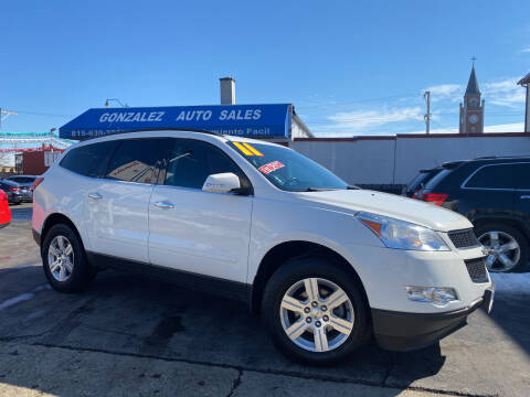 2011 Chevrolet Traverse for sale at Gonzalez Auto Sales in Joliet IL