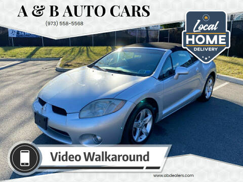 2007 Mitsubishi Eclipse Spyder for sale at A & B Auto Cars in Newark NJ