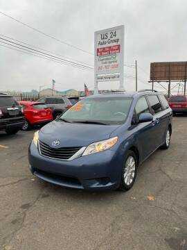 2013 Toyota Sienna for sale at US 24 Auto Group in Redford MI