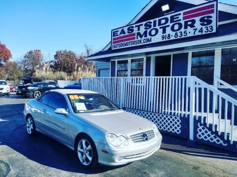2004 Mercedes-Benz CLK for sale at EASTSIDE MOTORS in Tulsa OK