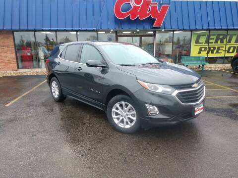 2020 Chevrolet Equinox for sale at CITY SELECT MOTORS in Galesburg IL