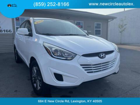 2014 Hyundai Tucson for sale at New Circle Auto Sales LLC in Lexington KY
