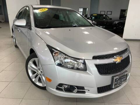 2012 Chevrolet Cruze for sale at Cj king of car loans/JJ's Best Auto Sales in Troy MI