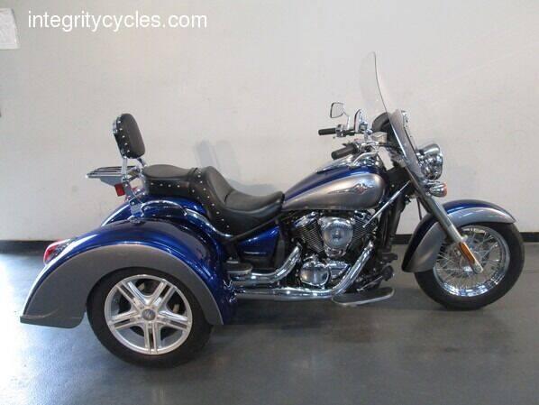 2010 Kawasaki VULCAN 900 CLASSIC TRIKE for sale at INTEGRITY CYCLES LLC in Columbus OH