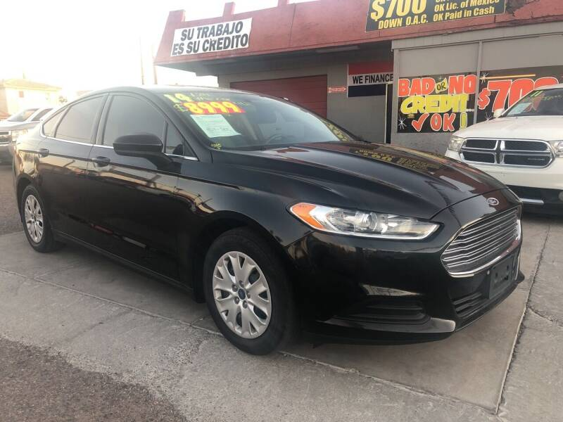 2014 Ford Fusion for sale at Sunday Car Company LLC in Phoenix AZ