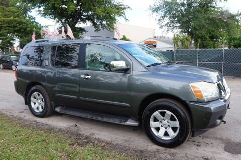 2004 Nissan Armada for sale at SUPER DEAL MOTORS in Hollywood FL