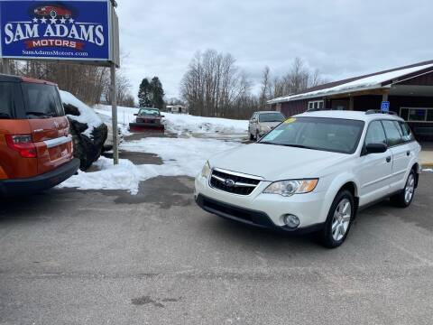 2009 Subaru Outback for sale at Sam Adams Motors in Cedar Springs MI