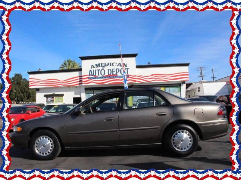 2003 Buick Century for sale at American Auto Depot in Modesto CA