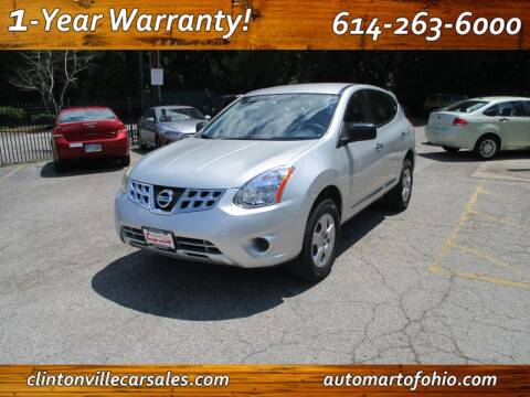 2013 Nissan Rogue for sale at Clintonville Car Sales - AutoMart of Ohio in Columbus OH