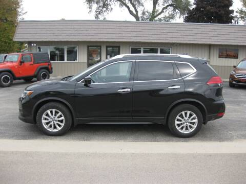 2017 Nissan Rogue for sale at Greens Motor Company in Forreston IL