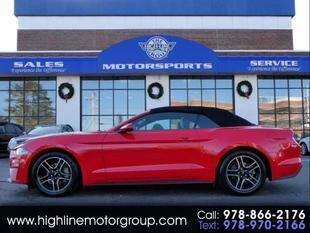 2019 Ford Mustang for sale at Highline Group Motorsports in Lowell MA
