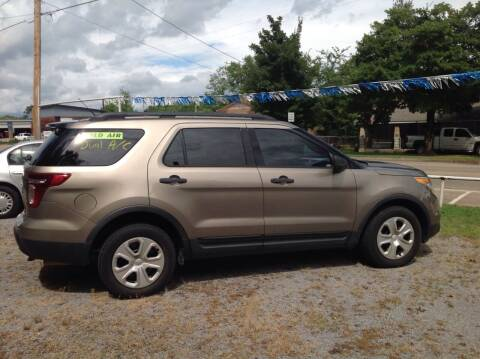 2013 Ford Explorer for sale at GIB'S AUTO SALES in Tahlequah OK