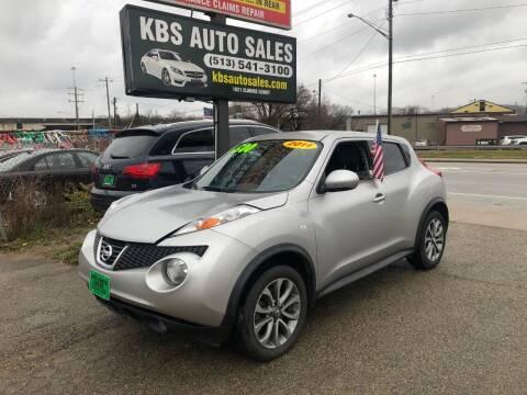2011 Nissan JUKE for sale at KBS Auto Sales in Cincinnati OH