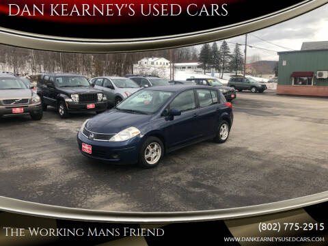 2008 Nissan Versa for sale at DAN KEARNEY'S USED CARS in Center Rutland VT