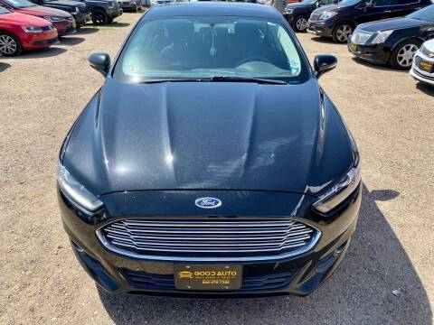 2014 Ford Fusion for sale at Good Auto Company LLC in Lubbock TX