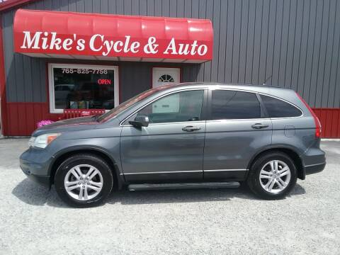 2010 Honda CR-V for sale at MIKE'S CYCLE & AUTO in Connersville IN