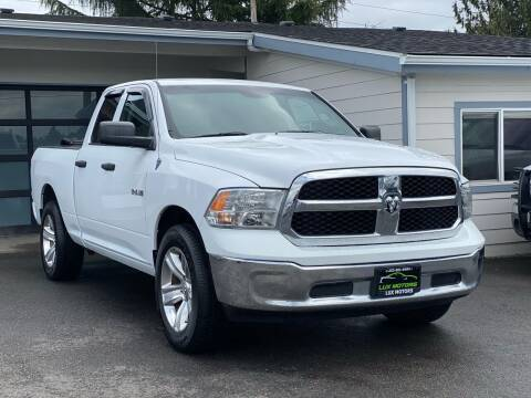 2013 RAM Ram Pickup 1500 for sale at Lux Motors in Tacoma WA